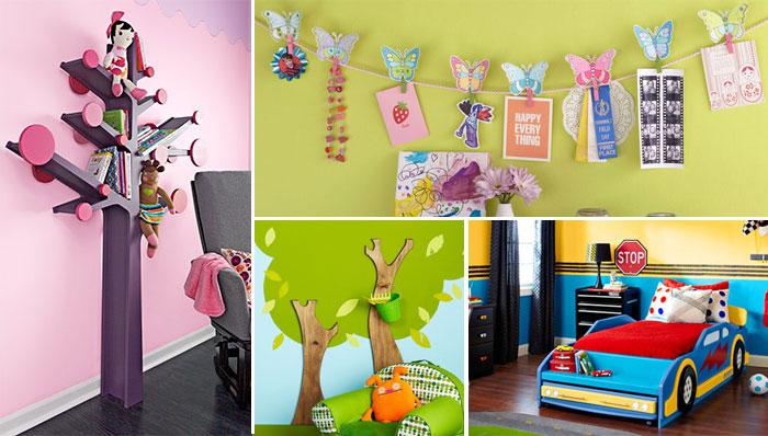 kids room decor ideas examples of kidsu0027 room decorating AUKFOXH