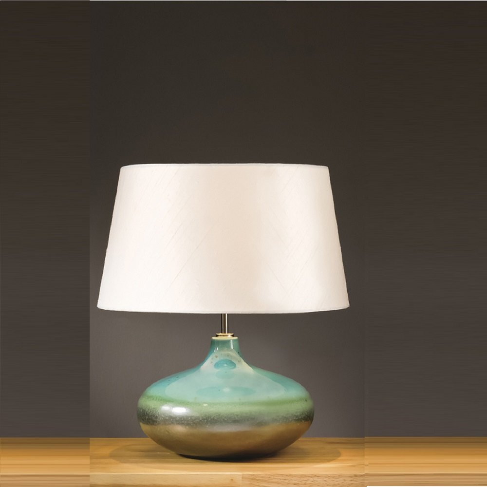 lamp for small table turquoise small table lamp KFIXXOJ
