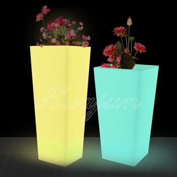 led flower pots large led flower pot, outdoor led garden lights flower pot GJMDMFV