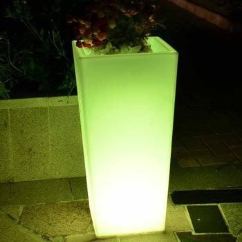 led flower pots led lighted planter pots / led flower pot wholesale UIFKRPS
