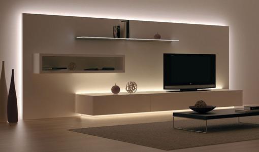led furniture lights häfeleu0027s loox 12v led flexible strip lighting works well for background  lighting ZKHXFOE