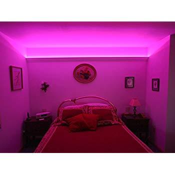 led furniture lights under furniture / under bed led lighting kit 8ft - choose orange or LILCJKC