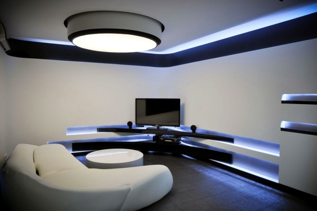 led light design for homes 33 ideas for ceiling lighting and indirect effects of led lighting beautiful OLNJXGX