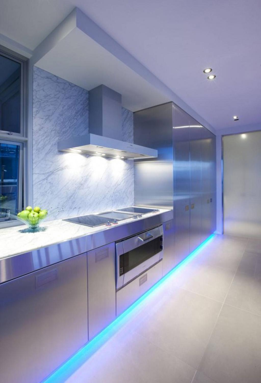 led light design for homes led kitchen lighting IGASXES