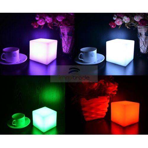 led mood light table lamp (cube shape,10cm, usb cable rechargeable, rgb IHESTJP