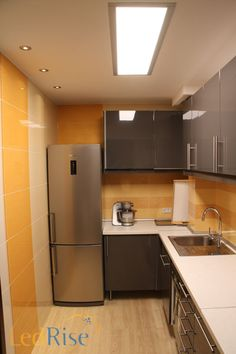led panel kitchen lighting flat led light for a kitchen with an airy feel. 72w 354,00 u20ac TONIVXJ