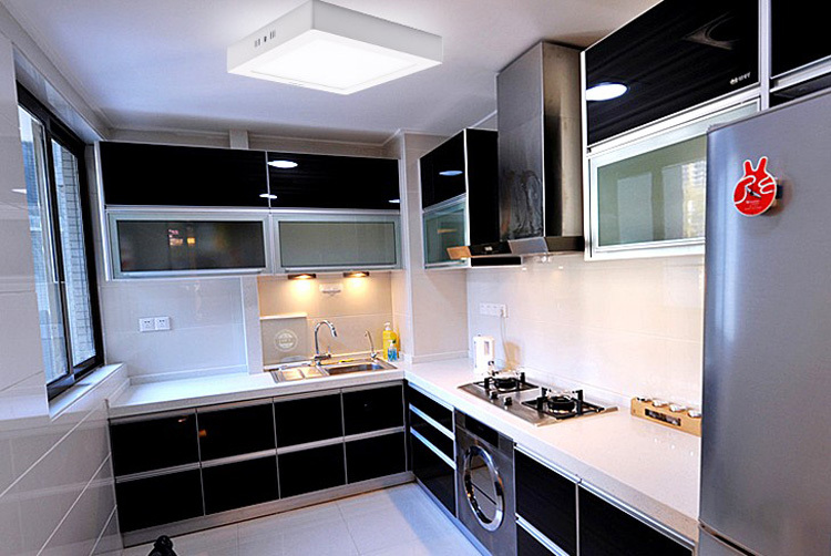 Lighting concepts with LED Panels – led panel kitchen lighting