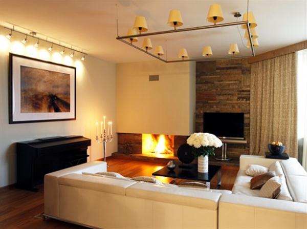 Lighting ideas for living room 20 pretty cool lighting ideas for contemporary living room DUNKKQL