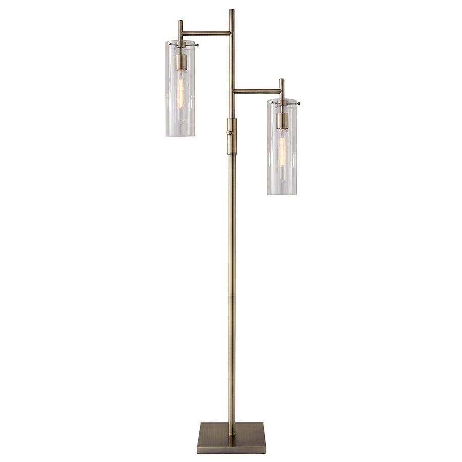 Modern Floor Lamps call to order · dartmouth modern brass floor lamp SZJDUJP