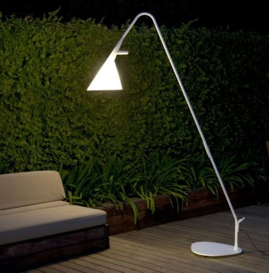modern outdoor lamps mate lamp by designer geert koster (via www.digsdigs.com) QAAIHJY