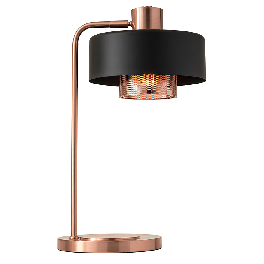 Modern Table Lamps call to order · banfield modern copper table lamp EMHRWDI