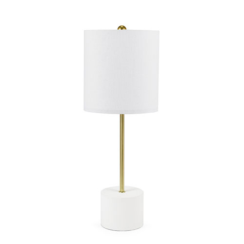 Modern Table Lamps cupcakes and cashmere elemental white stick table lamp IYPTANS