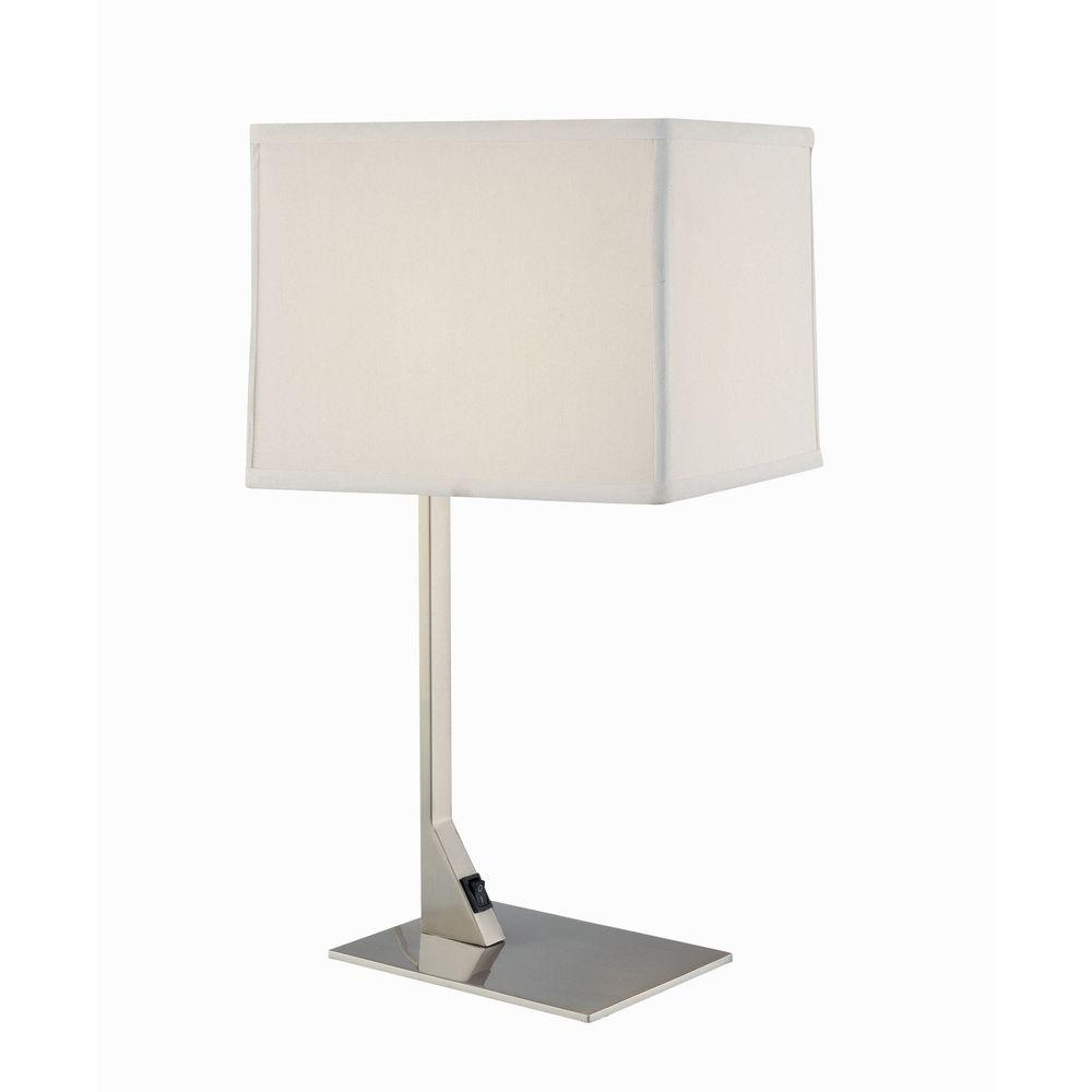 Modern Table Lamps design classics lighting modern table lamp with rectangular shade 6090-1-09  / sh7354 JAYBNRP