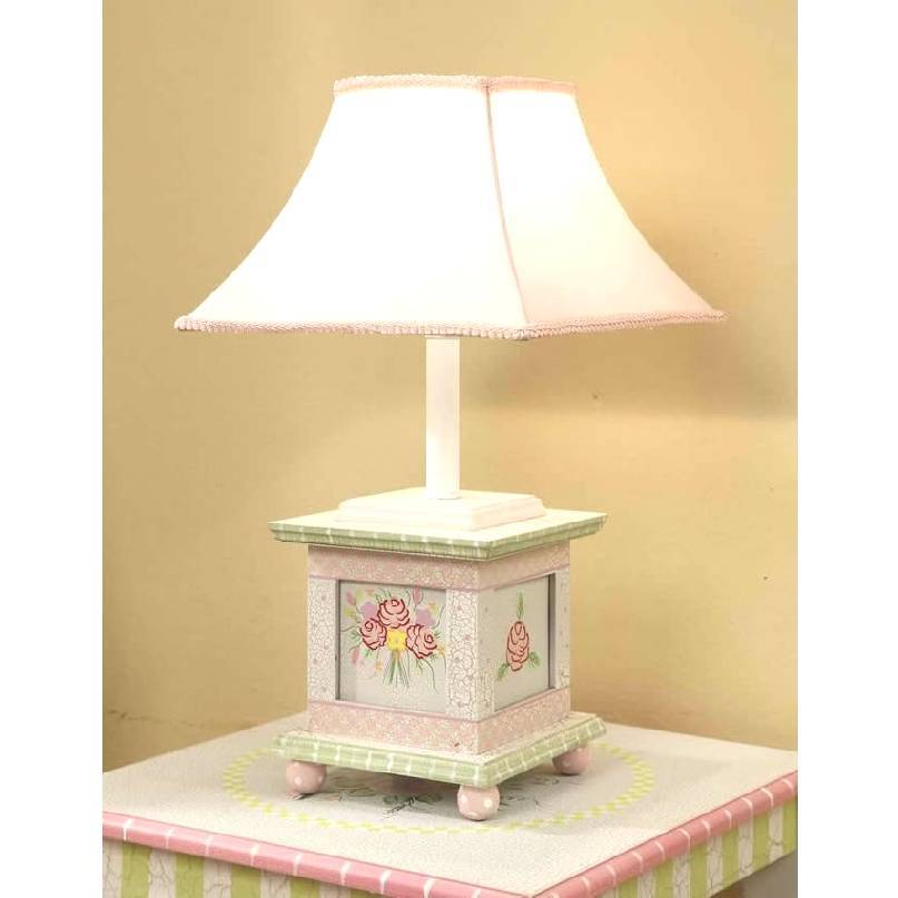 Lamps in the Shabby chic style