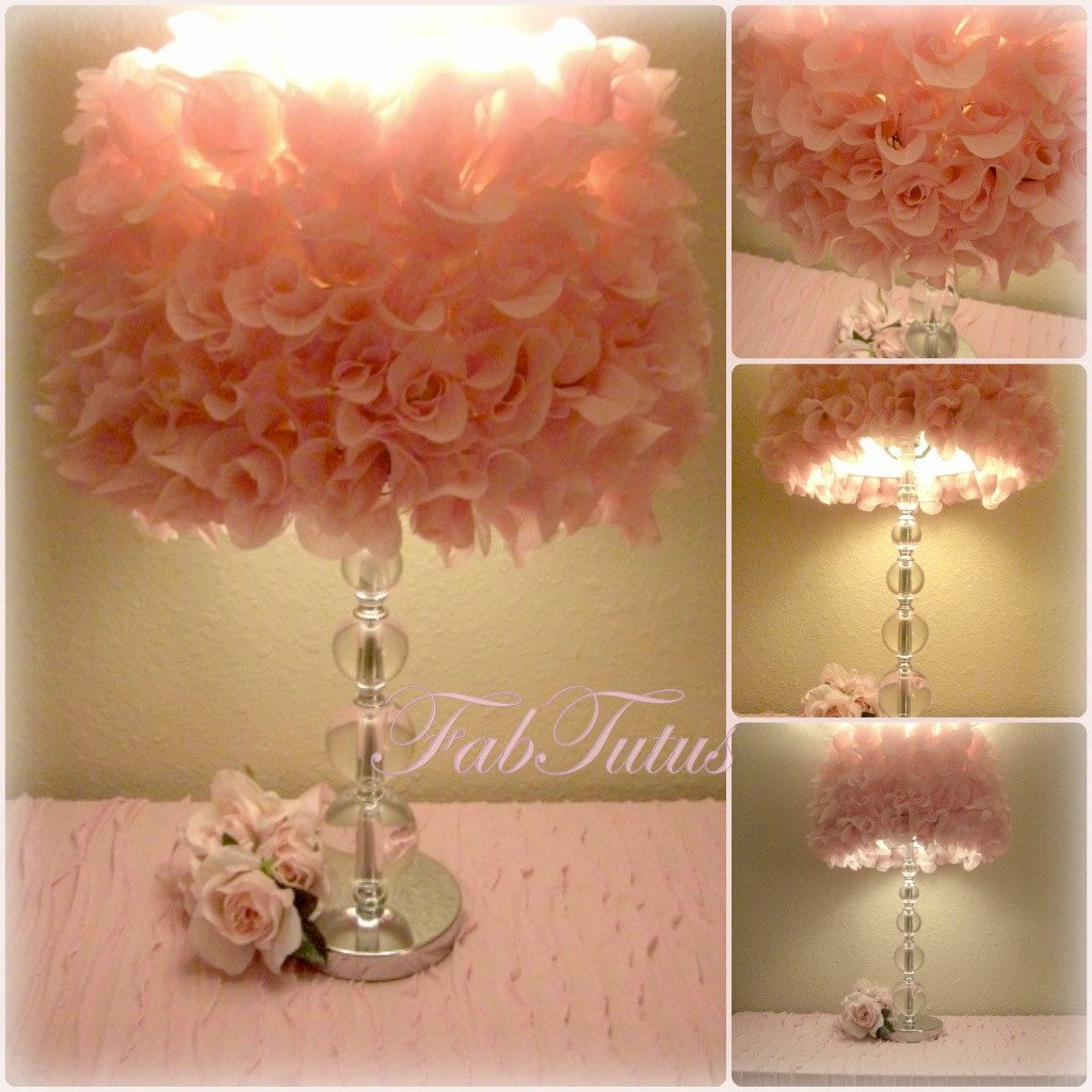 Shabby Chic style lamps this shabby chic style lamp shade is great for other rooms in the RPTRKRR