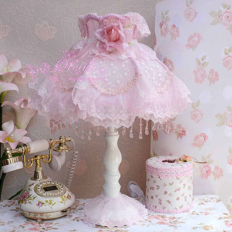 Shabby Chic style lamps victorian lamp shabby chic vintage style lamp french table light VLVWVMH