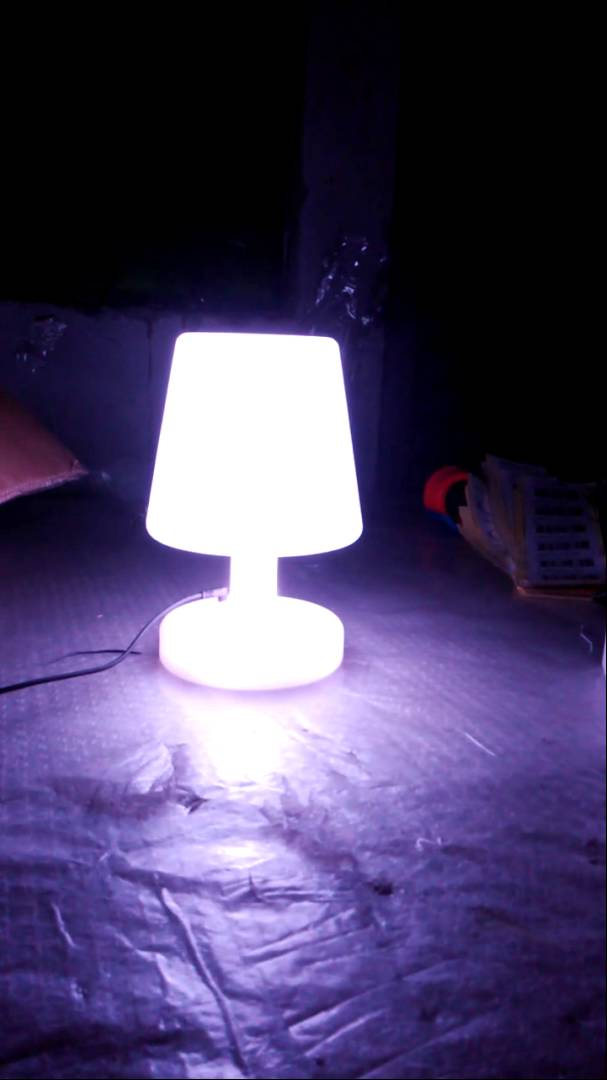 slonglight remote control cordless dimmable white led mood light table lamp  rechargeable PSKBGQK