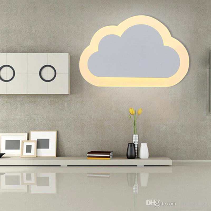 wall lamp for kids room best children room cloud novelty lighting wall light for kids room modern SSGWIXE