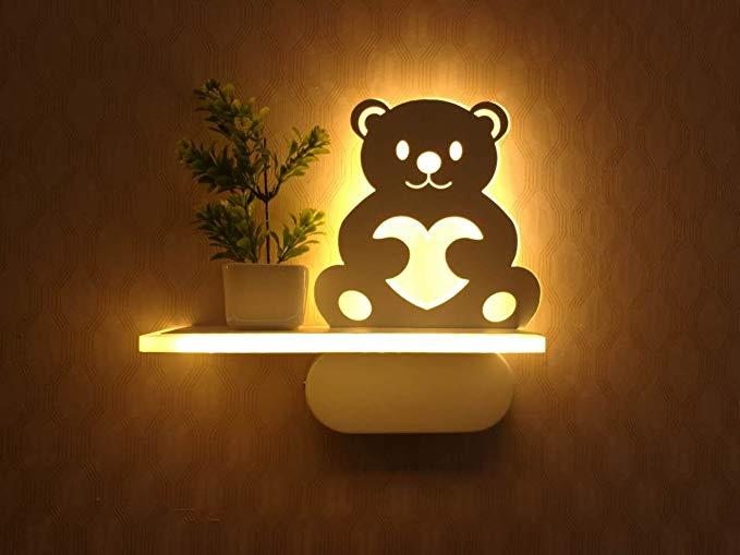 wall lamp for kids room guyue 3d bear lamp sign night wall light,childrenu0027s bedroom home led wall GWHNSXJ