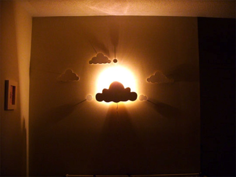 wall lamp for kids room incredible kids night lamp with diy cloud wall night light for a nursery GTZRMEB