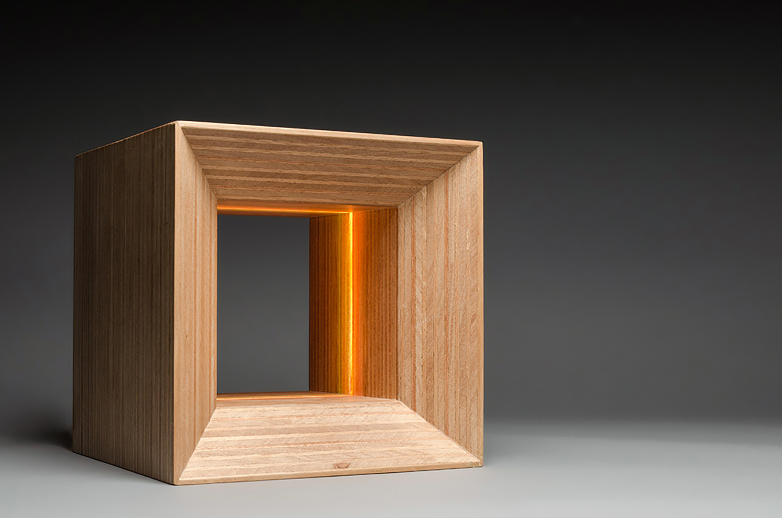 wood lamps designs lux3 is a color-changing wooden lamp that boosts your mood and health ADMFWCY