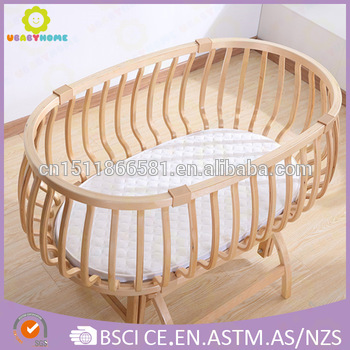 baby crib wooden baby bed new deisgn 2016 wholesale baby bed AGZTRPT