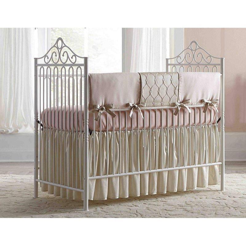 babyu0027s dream furniture angelica iron baby bed GRIXUWJ