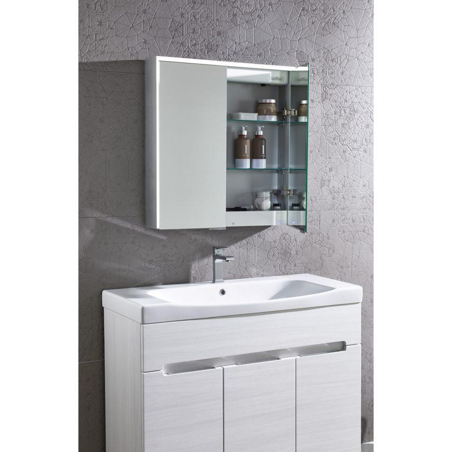 Bathroom Cabinet roper rhodes compose bathroom cabinet with bluetooth connectivity YLKSOXD