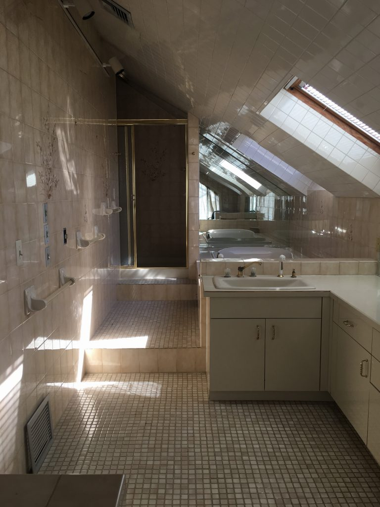 bathrooms pitched roof before bathroom remodel VTCOYWO