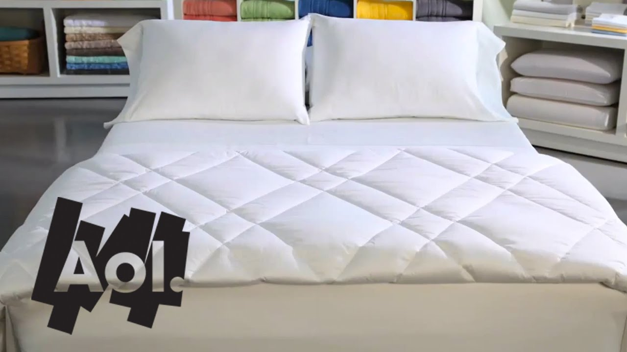 comfortable Bed how to make the most comfortable bed | martha stewart - youtube FIYDQNB