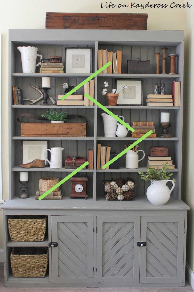 Decorating Shelves 10 tips for decorating shelves like a pro - site lines - farmhouse - UGADHWI