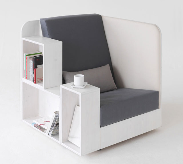 functional furniture 21. the library chair HVFVDPB