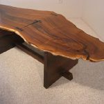 Furniture made of olive wood