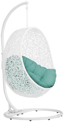 Hanging Chairs orchid dark teal hanging chair EGDPQWJ