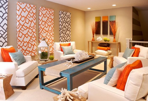 Interior design with colors if you want to incorporate bright colors, but want to keep in low key, UKBRORG
