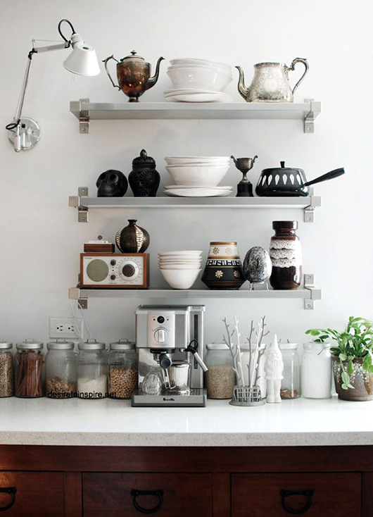 Kitchen shelf ideas 12 kitchen shelving ideas: the decorating dozen / sfgirlbybay DEGHKZA
