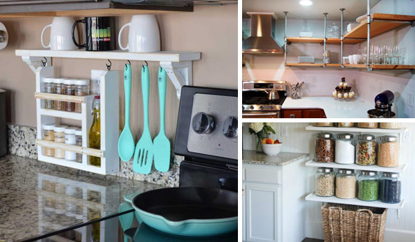 Kitchen shelf ideas interesting and practical shelving ideas for your kitchen OROHKXU