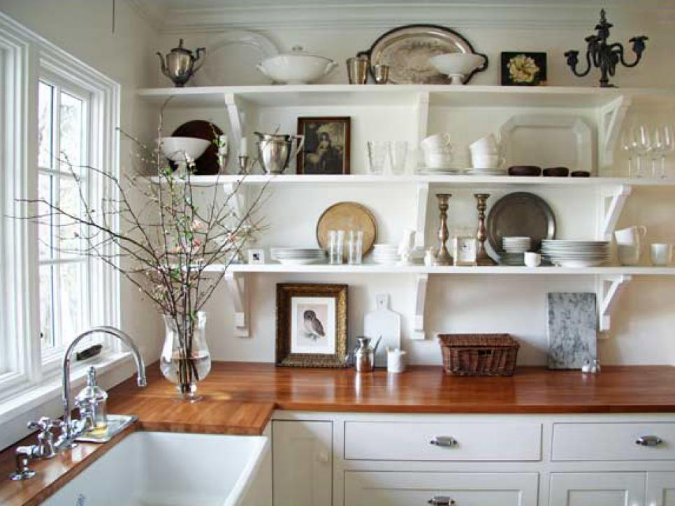 Kitchen shelf ideas related to: furniture kitchen shelves ... BAWXDFR