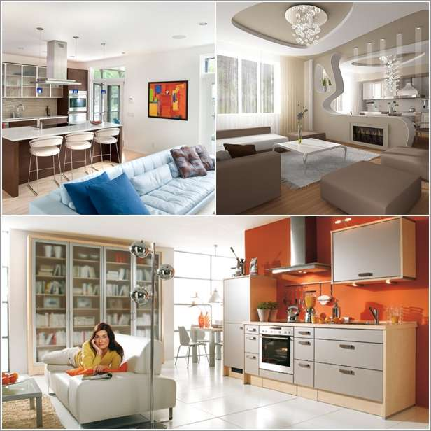 kitchens living rooms combined 10 amazing ideas to design kitchen combined with living room AUXLLWY