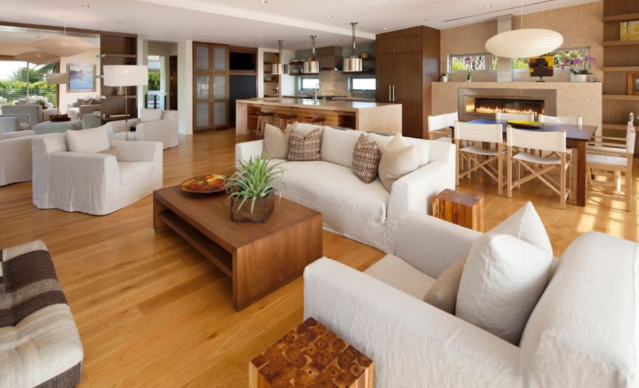Kitchens living rooms combined: how it works!