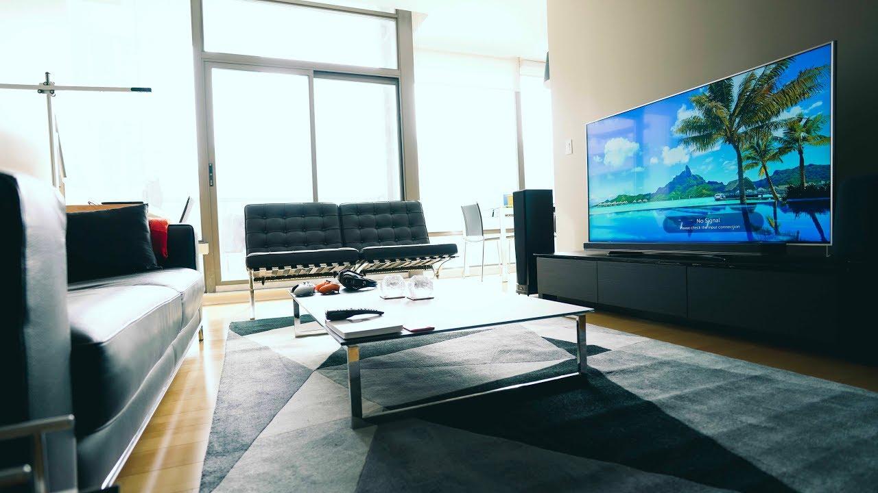 Living room setup creating the perfect 4k tv living room setup! QYFSCNU