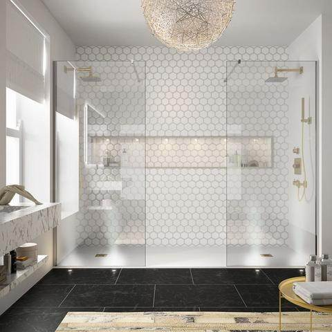 modern bathroom renovation bathtub for two or his and hers showers? LWPTFUG