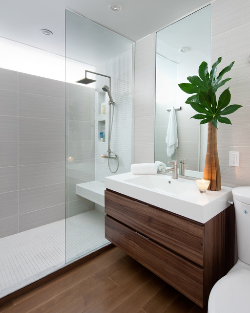 modern bathroom renovation before and after: 6 bathrooms that said goodbye to the tub RVNOKVM