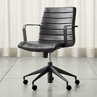 modern home office furniture graham black office chair ZINQZEL