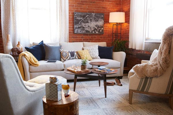 Modern living room ideas an exposed brick wall is the cornerstone behind every industrial living room  design. MCHWZIP