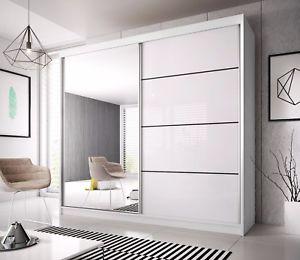 Modern Wardrobe image is loading modern-wardrobe-mu-233cm-7-ft-8-wide- PEVXUKS