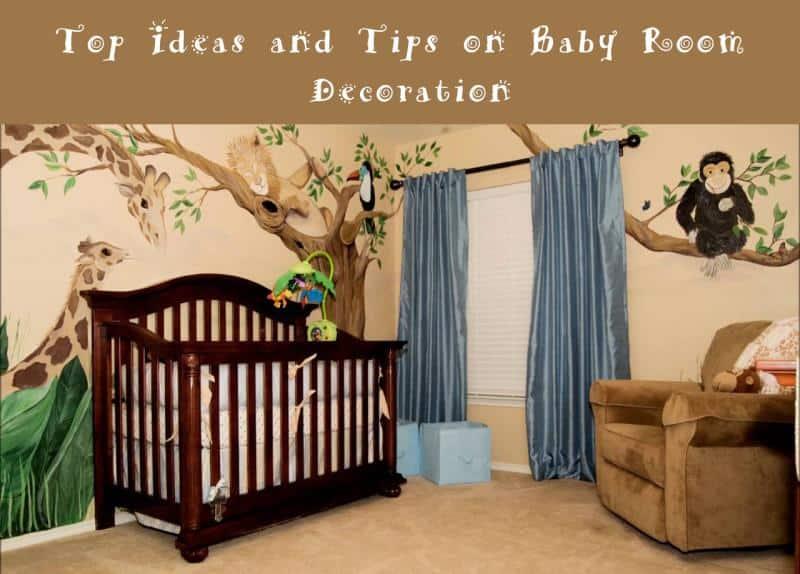 nursery room decoration ideas baby nursery ideas: best baby room decoration ideas you will love FYXCWHA