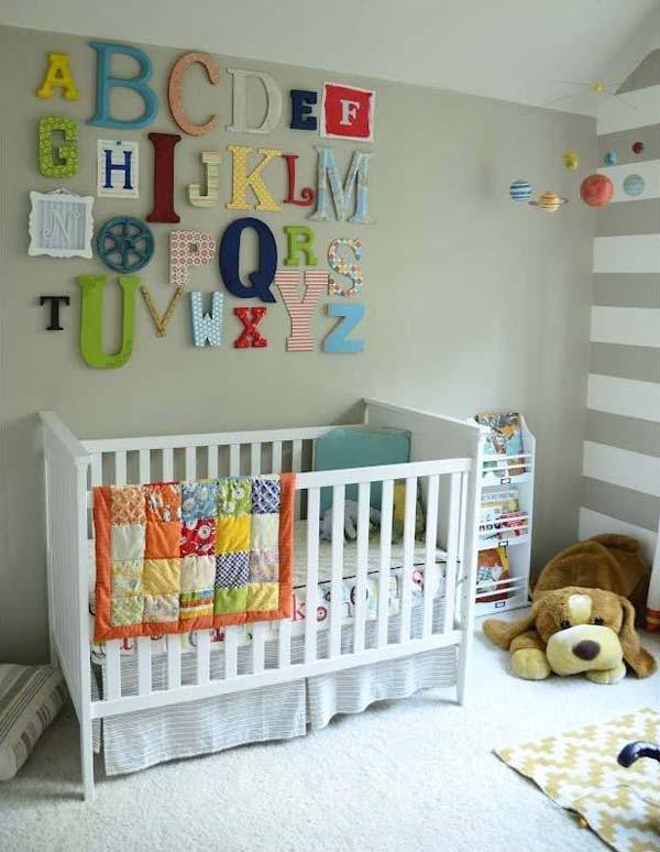 nursery room decoration ideas decorating-ideas-for-nursery-8 CHGJRLL
