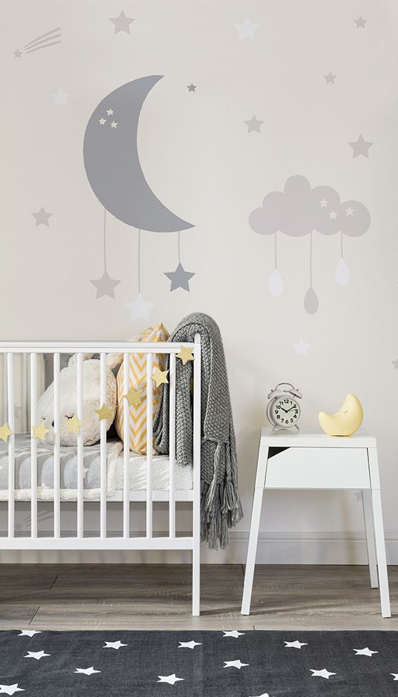 nursery wallpaper ideas perfect for your new baby murals ZMLGUJL