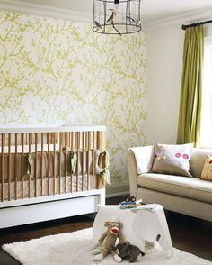 nursery wallpaper ideas wallpaper is perhaps the most versatile choice for nursery walls. nursery  room, girl DKOXLDR